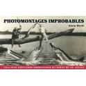 Photomontages improbables Cartes postales américaines du début du XXe siècle